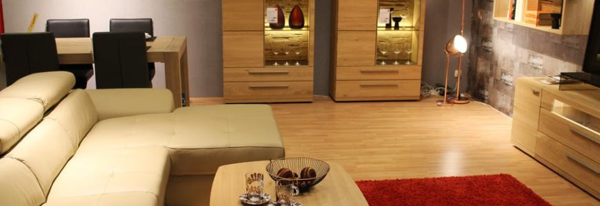 typowy nowoczesny salon